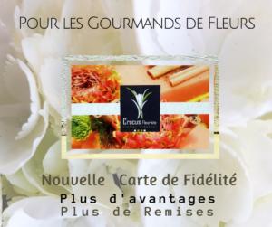 Carte de Fidélité Crocus fleuriste